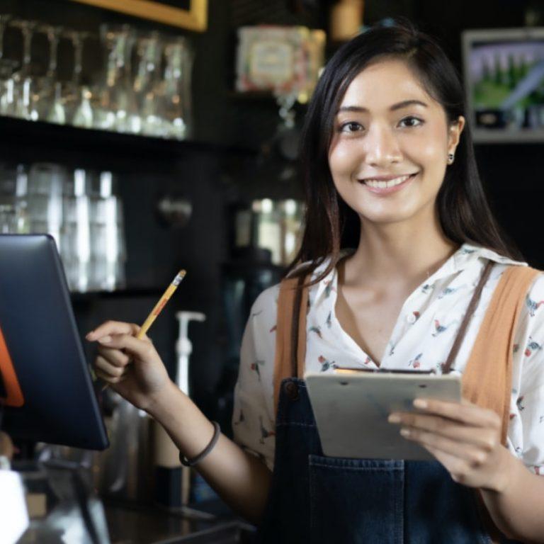 order monitor cashier